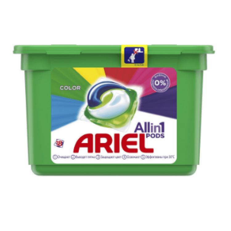 Капсули для прання, 18 шт. (кольор.) - image-0