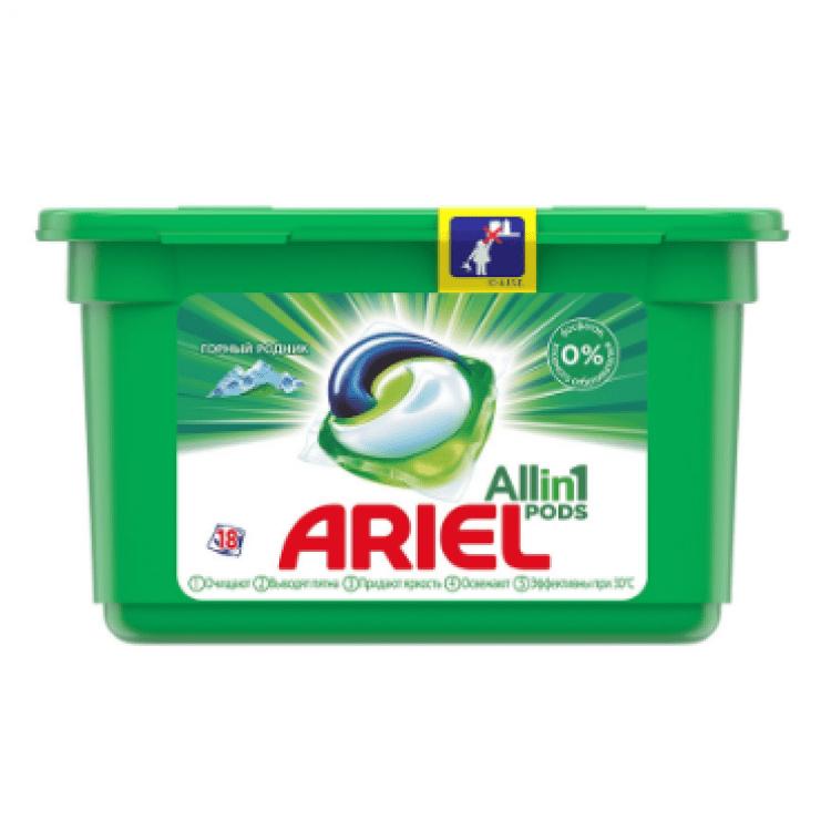 Капсули для прання, 18 шт. - image-0