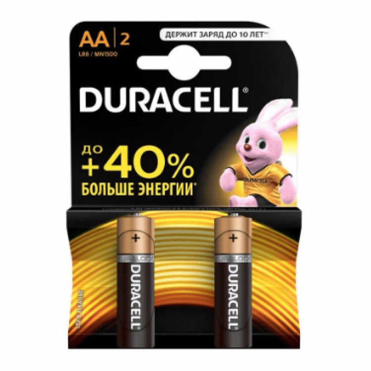 Батарейки, 2 шт., АА - image-0