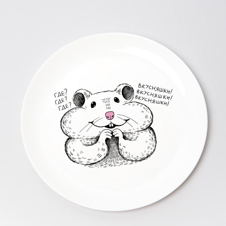 """Набір тарілок та чашок """"Хом'як"""" - image-3"""