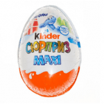 Яйце Kinder Surprise Maxi, 100г - image-0