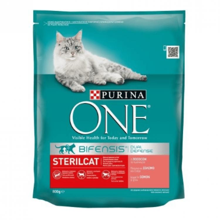 Сухий корм для стерилізованих котів, 800г - image-0