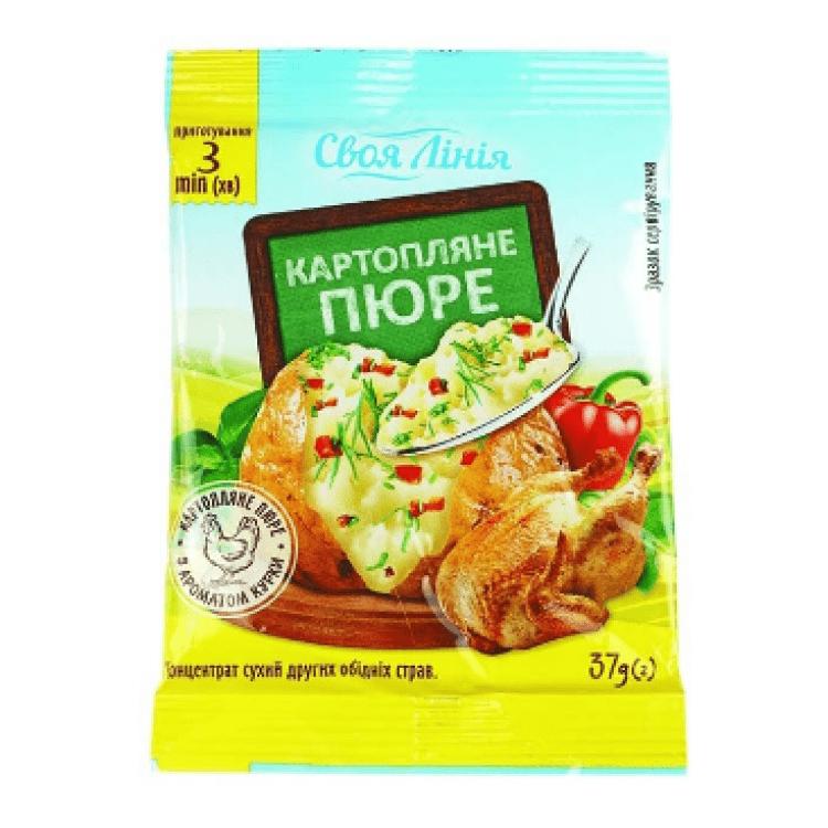 Картопляне пюре швидкого приготування, 37 г - image-0