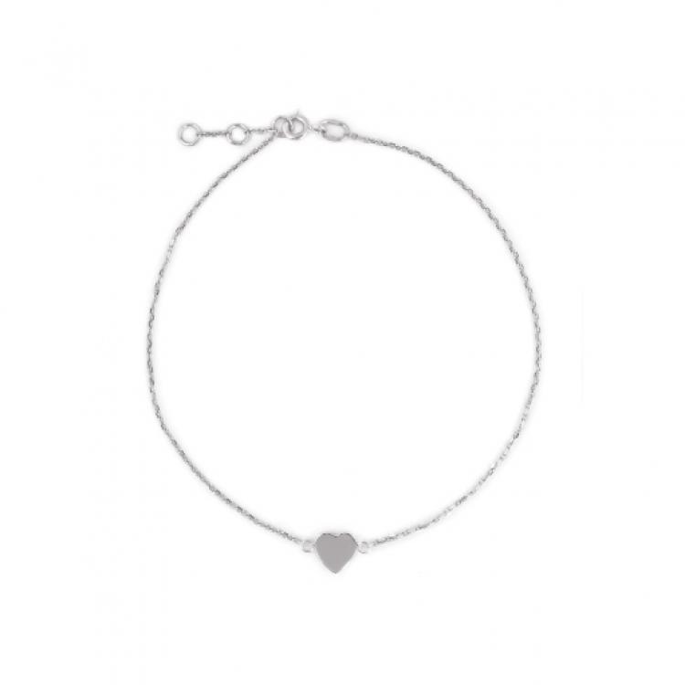 """Браслет срібний """"Серце"""" - image-2"""