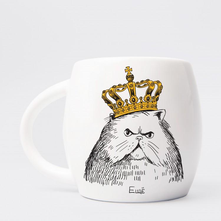 """Чашка """"Кіт в короні"""" - image-0"""