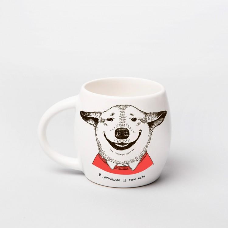 """Чашка """"Собака з посмішкою"""" - image-3"""