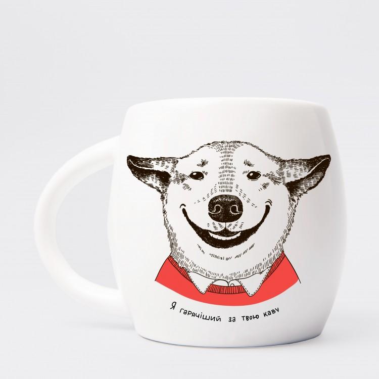 """Чашка """"Собака з посмішкою"""" - image-2"""