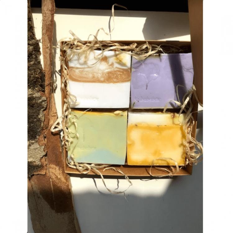 """Подарунковий набір мила """"Kulbaba box #9"""" - image-0"""