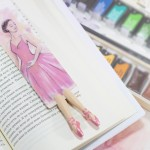 "Книжкова закладка ""Балерина"" - image-0"