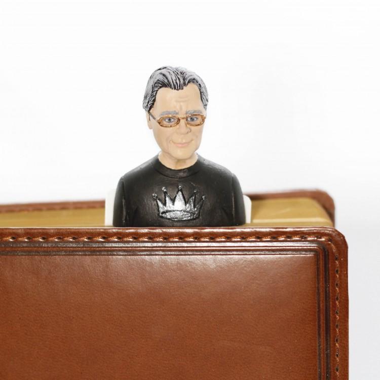 "Книжкова закладка ""Стівен Кінг"" - image-2"