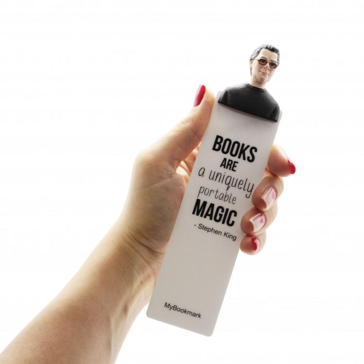 "Книжкова закладка ""Стівен Кінг"" - image-5"