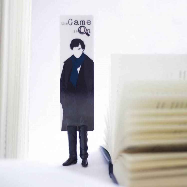 """Книжкова закладка """"Шерлок"""" - image-4"""