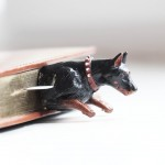 "Книжкова закладка ""Доберман"" - image-0"