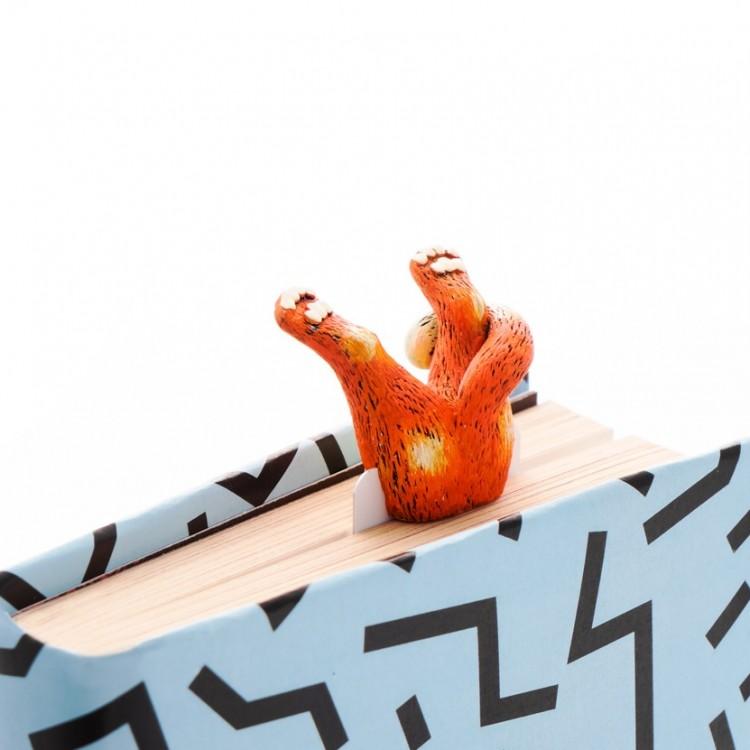 """Книжкова закладка """"Рижий кіт"""" - image-1"""
