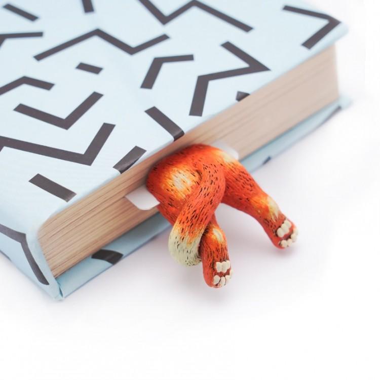 """Книжкова закладка """"Рижий кіт"""" - image-0"""
