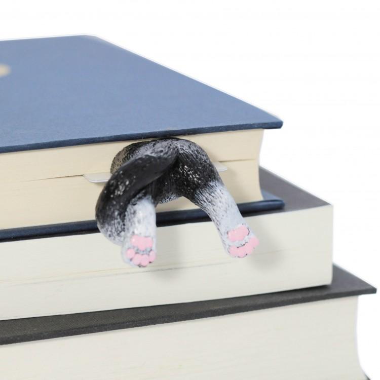 """Книжкова закладка """"Чорно-білий кіт"""" - image-2"""