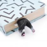 """Книжкова закладка """"Чорно-білий кіт"""" - image-0"""