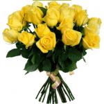 "Букет жовтих троянд ""Казка"" - image-0"