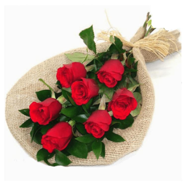 7 червоних троянд - image-0