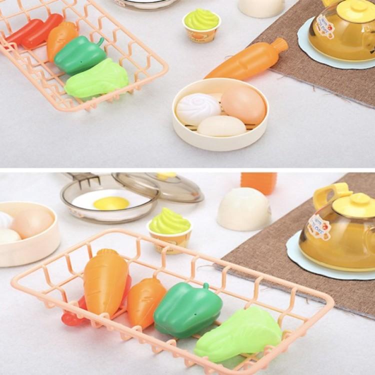 Дитяча інтерактивна кухня Fun Cooking 998B рожева - image-0