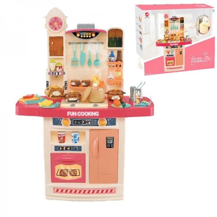 Дитяча інтерактивна кухня Fun Cooking 998B рожева - image-2