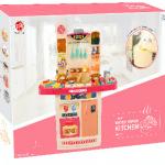 Дитяча інтерактивна кухня Fun Cooking 998B рожева - image-1