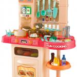 Дитяча інтерактивна кухня Bozhi Toys Fun Cooking 838B рожева - image-3