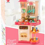Дитяча інтерактивна кухня Bozhi Toys Fun Cooking 838B рожева - image-2