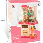 Дитяча інтерактивна кухня Bozhi Toys Fun Cooking 838B рожева - image-1