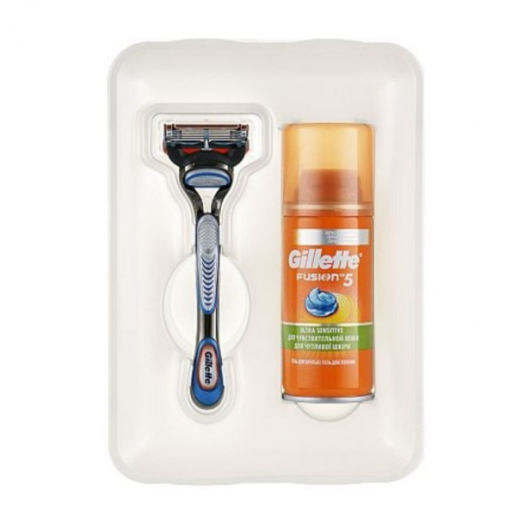 Косметичний набір Gillette Fusion5 Ultra Sensitive - image-0