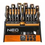 Набір викруток та насадок Neo, 37 шт. - image-0