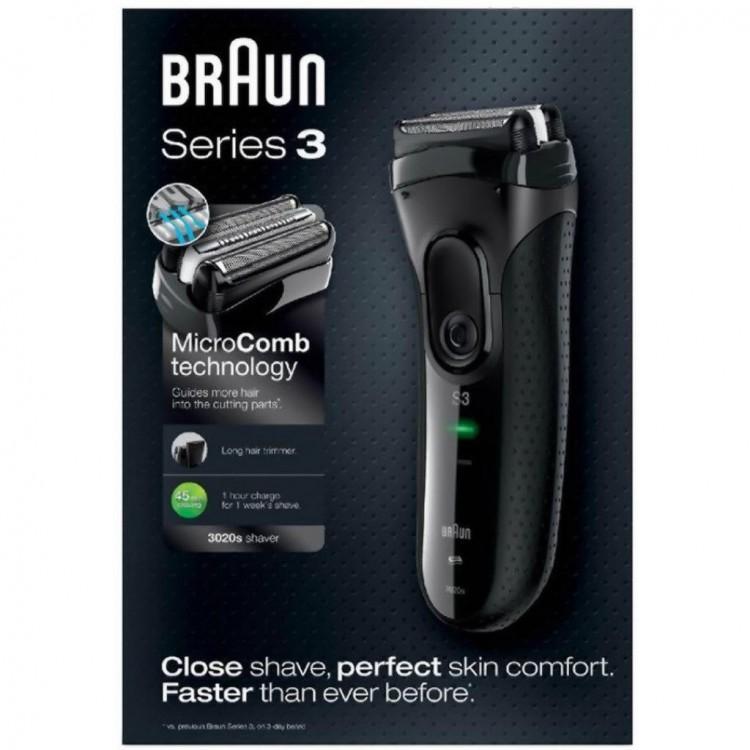 Електробритва Braun 3020 Black Series 3 - image-3