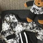 Дитячий костюм сніжинка + ведмедик Лакі - image-1