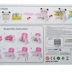 Розвиваючий стільчик Happicute Baby Панда JDL555-14B - image-2