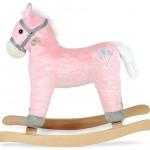 Дитяча гойдалка Конячка Sapphire SK-30 рожева - image-4