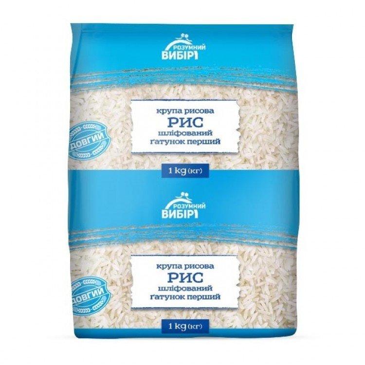 Крупа рисова, 1 кг - image-0