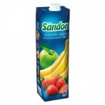 Нектар банан, яблуко, полуниця, 0, 95 л - image-0