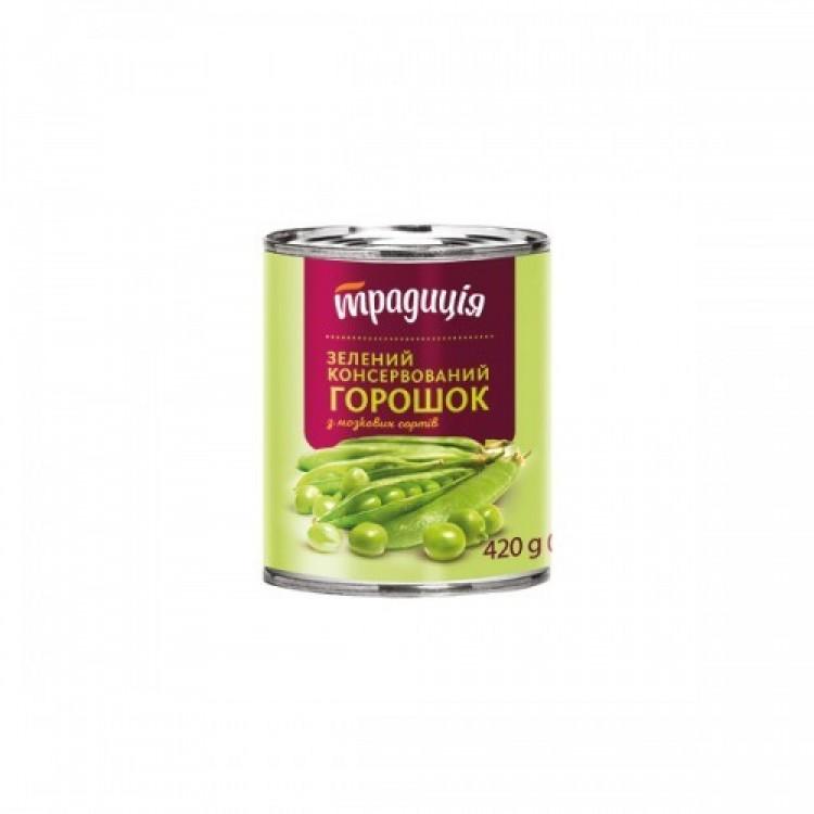 Горошок зелений, 420 г - image-0