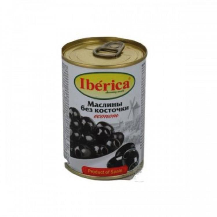 Оливки чорні без кісточки, 280 г - image-0