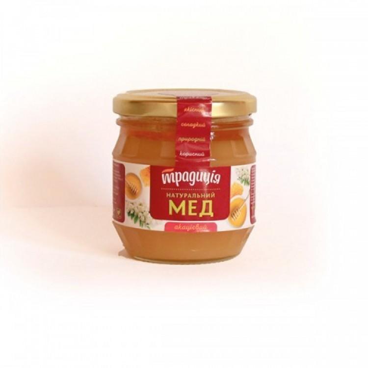 Мед натуральний акацієвий, 250 г - image-0