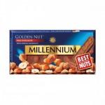 Шоколад молочний з горіхом, 100 г - image-0
