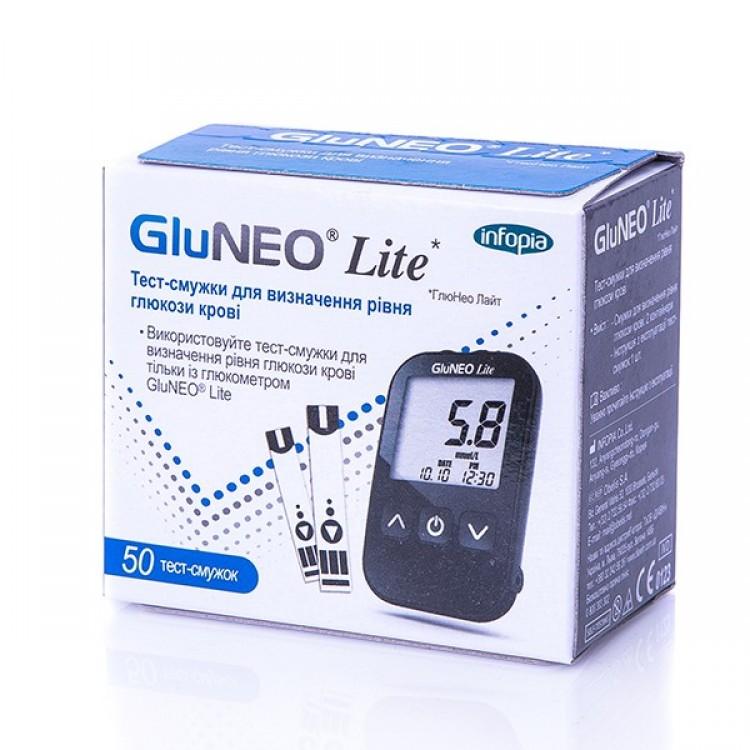 Тест-смужки GluNeo Lite (ГлюНео Лайт), 50 шт. - image-0