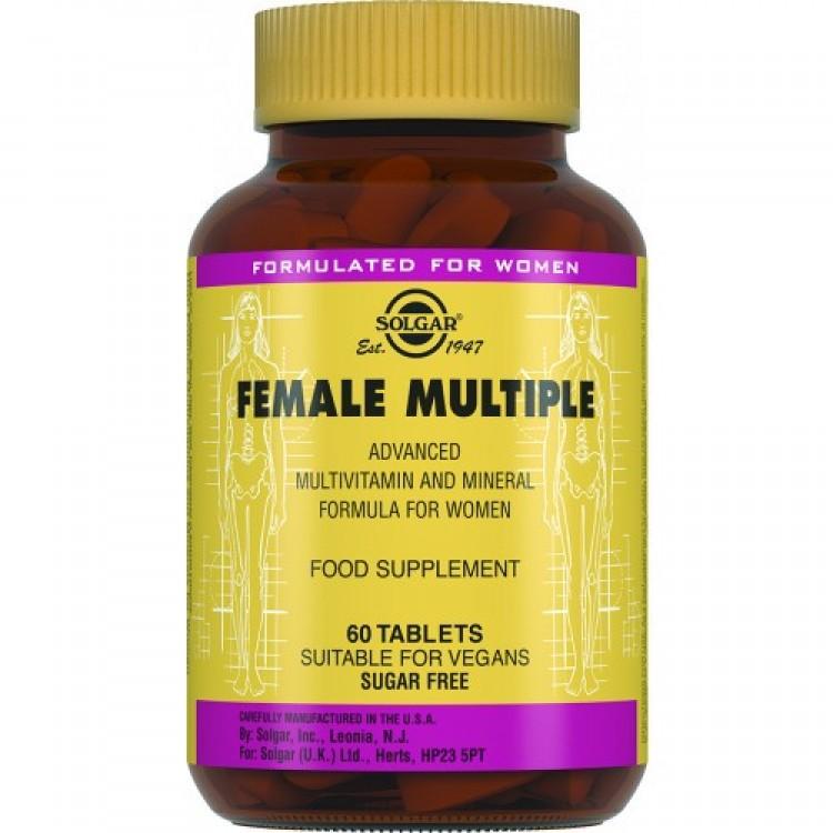 Вітаміни для жінок Солгар Female Multiple, 60 таблеток - image-0