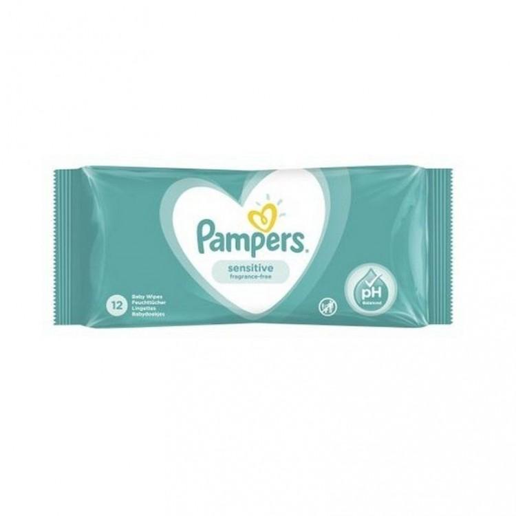 Серветки вологі Pampers Fresh Clean дитячі, 52 шт - image-0