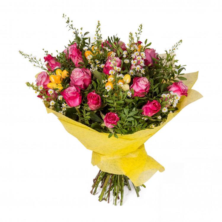 Букет Квітковий фонтан - image-0