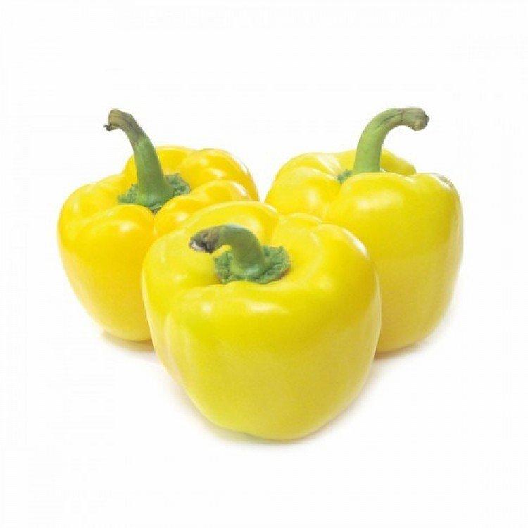 Перець болгарський солодкий жовтий, 1 кг - image-0