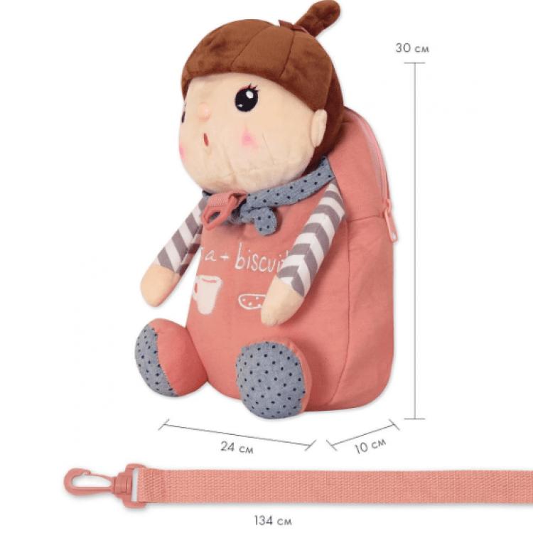 Рюкзак Лялька Сластьон, рожевий Metoys - image-4