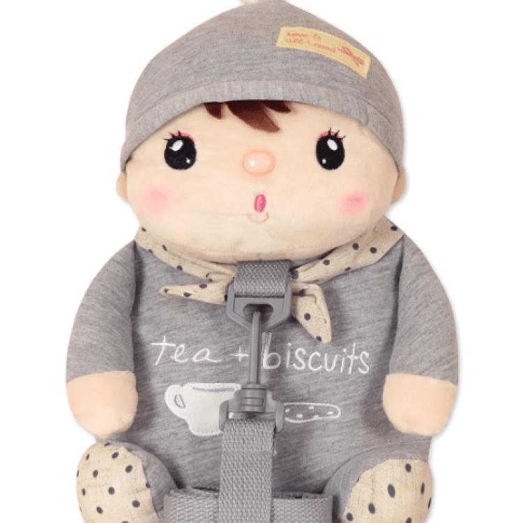 Рюкзак Лялька Сластьон, сірий Metoys - image-0