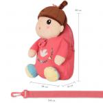 Рюкзак Кукла, рожевий  Metoys - image-3