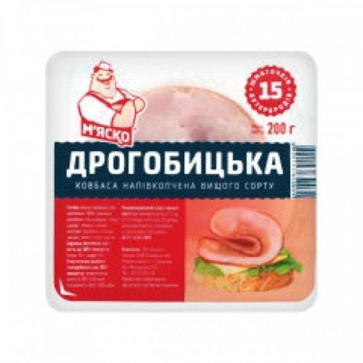 Ковбаса Дрогобицька напівкопчена, 200 г - image-0